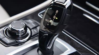 BMW 730Ld interior detail