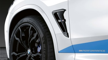 BMW X4 M with M Performance parts - vent