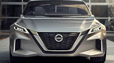 Nissan Vmotion 2.0 concept - front