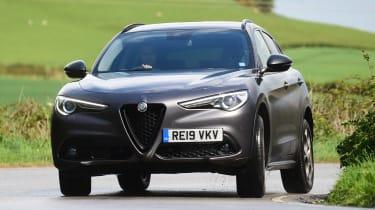 Alfa Romeo Stelvio Nero Edizione - front