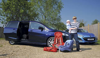 Mazda 5: First report header