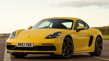 Porsche Cayman - front