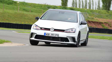 Volkswagen Golf GTI Clubsport - front cornering