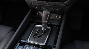 SsangYong Rexton - gear lever