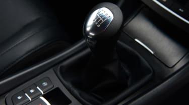 MG6 gearstick