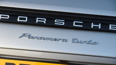 Porsche Panamera Turbo Sport Turismo - rear badge