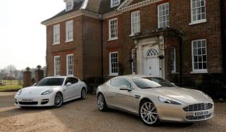 Aston Martin Rapide Porsche Panamera Turbo