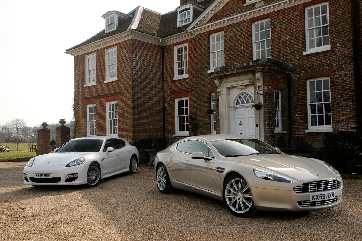 Aston Martin Rapide Vs Porsche Panamera Auto Express