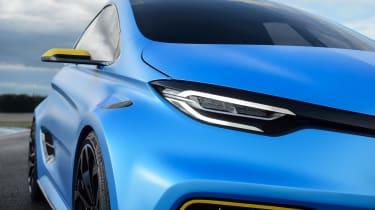 Renault ZOE E-Sport concept - front profile