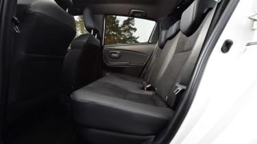 Toyota Yaris GR Sport - rear seats