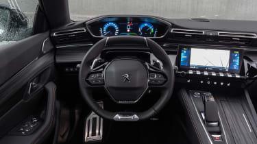 Peugeot 508 Hybrid - dash