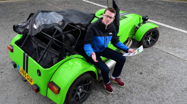 Long-term test review: Caterham 270S - third report header