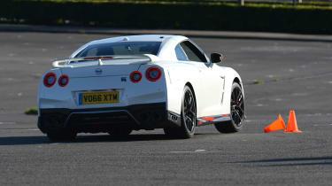 Nissan GT-R - track rear