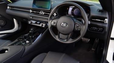 Toyota Supra - interior