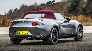 New Mazda MX-5 Z-Sport 2018 review - rear