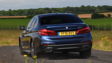 BMW 5 Series - rear action