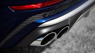 Audi SQ8 - exhausts