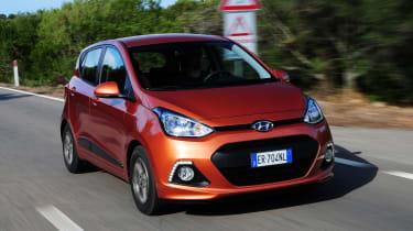 Hyundai i10 front tracking