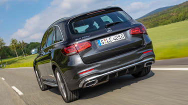 Mercedes GLC - rear