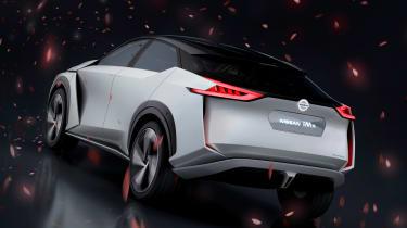 Nissan IMx concept - rear