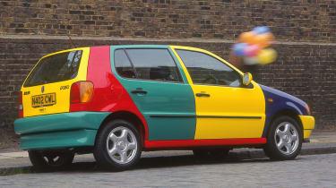 Weird car special editions - Polo Harlequin