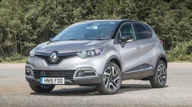 Renault Captur - front static