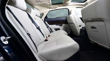 Jaguar XJ - rear seats
