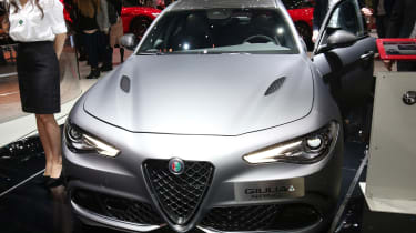 Alfa Romeo Giulia NRING - Geneva front