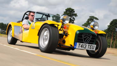 Best performance cars 2017/2018 - Caterham Seven