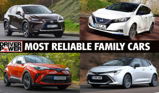 Most reliable family cars