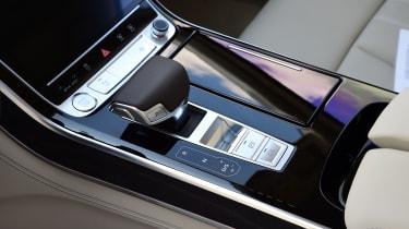 New Audi A8 2017 - controls
