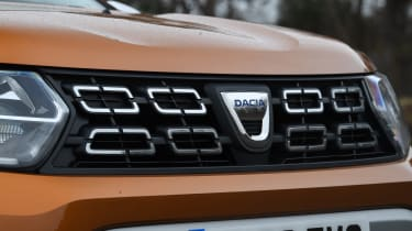 Dacia Duster: long term test review - grille
