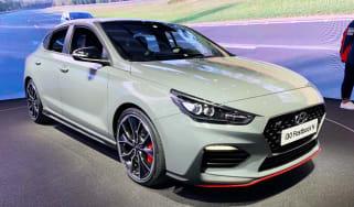Hyundai i30 Fastback N - Paris front