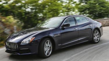 Maserati Quattroporte Diesel 2016 - front cornering