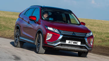 Mitsubishi Eclipse Cross First Edition - front cornering