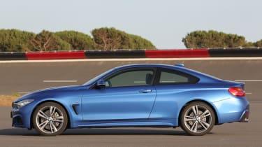 BMW 435i profile