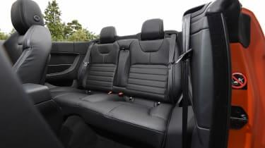 Range Rover Evoque Convertible - rear seats