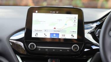 Ford Fiesta long term test - first report sat-nav