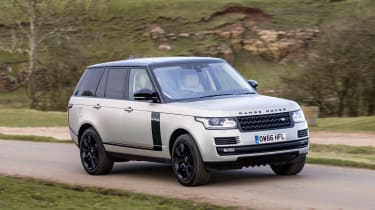 Range Rover Autobiography - front action