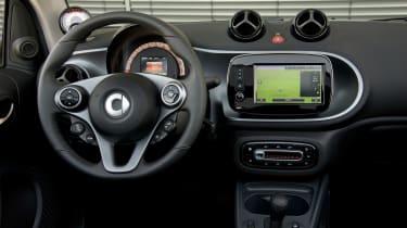 Smart ForTwo Electric Drive Cabrio - dash