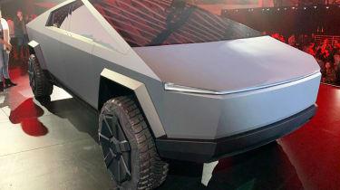 Tesla Cybertruck - reveal front static