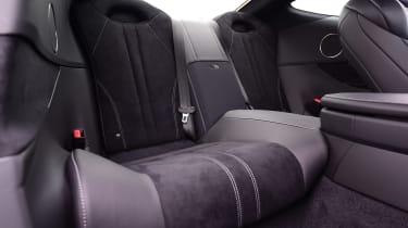 Lexus LC 500h - rear seats