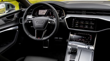 New Audi S7 Sportback - dash