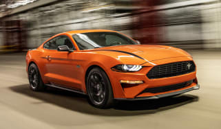 Ford Mustang High Performance Package - front action
