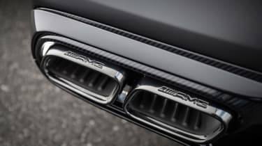 Mercedes-AMG C 63 S Coupe - exhaust