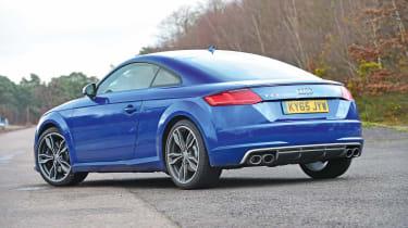 Audi TTS - side