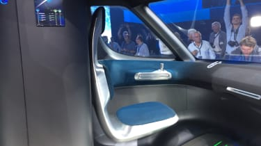 Mercedes Vision Van - reveal interior