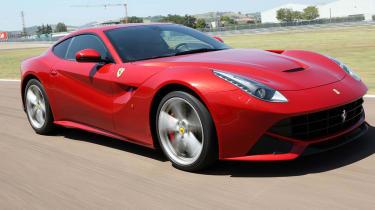 Ferrari F12 Berlinetta front action