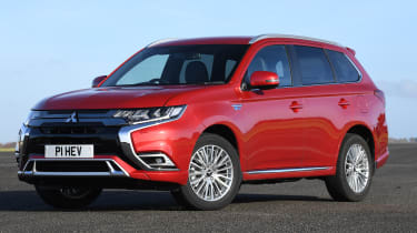 Mitsubishi Outlander PHEV - front static
