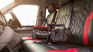Long-term test review: Volkswagen Transporter Sportline - interior camera